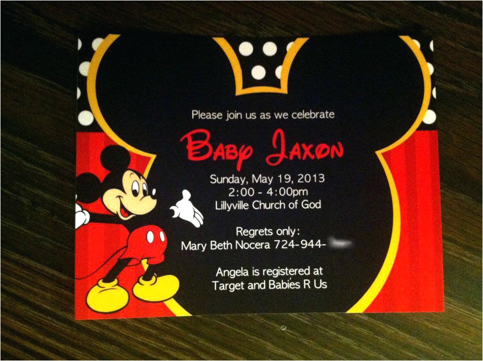 mickey mouse baby shower invitations baby boy shower new free mickey mouse baby shower invitation templates with free printable baby mickey mickey mouse baby shower invitations printable free