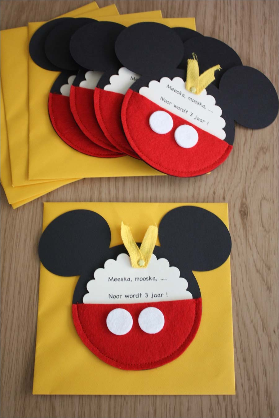 impressive mickey mouse party invitations design