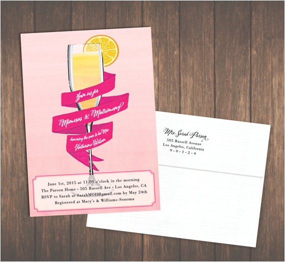 mimosa bridal shower invites brunch or utm medium=product listing promoted&utm source=bing&utm campaign=paper and party supplies paper