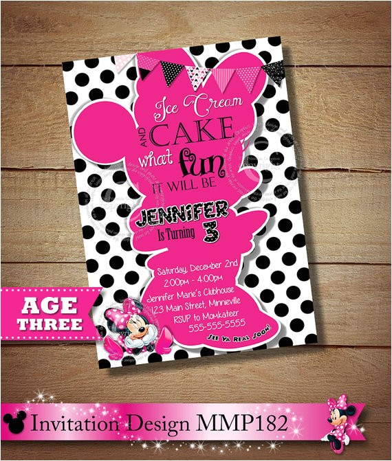 huge selection minnie mouse birthday