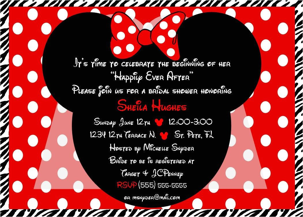minnie mouse bride bridal shower image id=