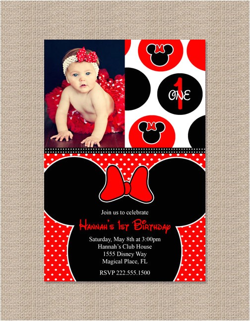 red minnie mouse birthday party