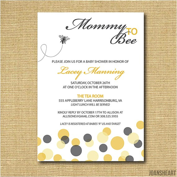 mommy to bee printable baby shower