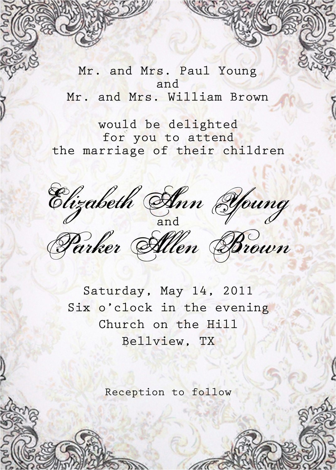 bridal shower invitations monetary