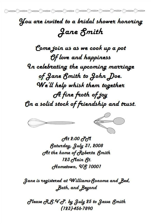 invitation wording vip