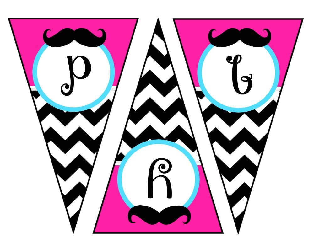 post mustache party free printables