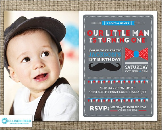 mustache invitation little man birthday