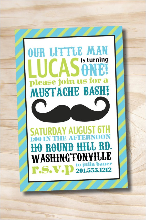 mustache bash little man 1st birthday