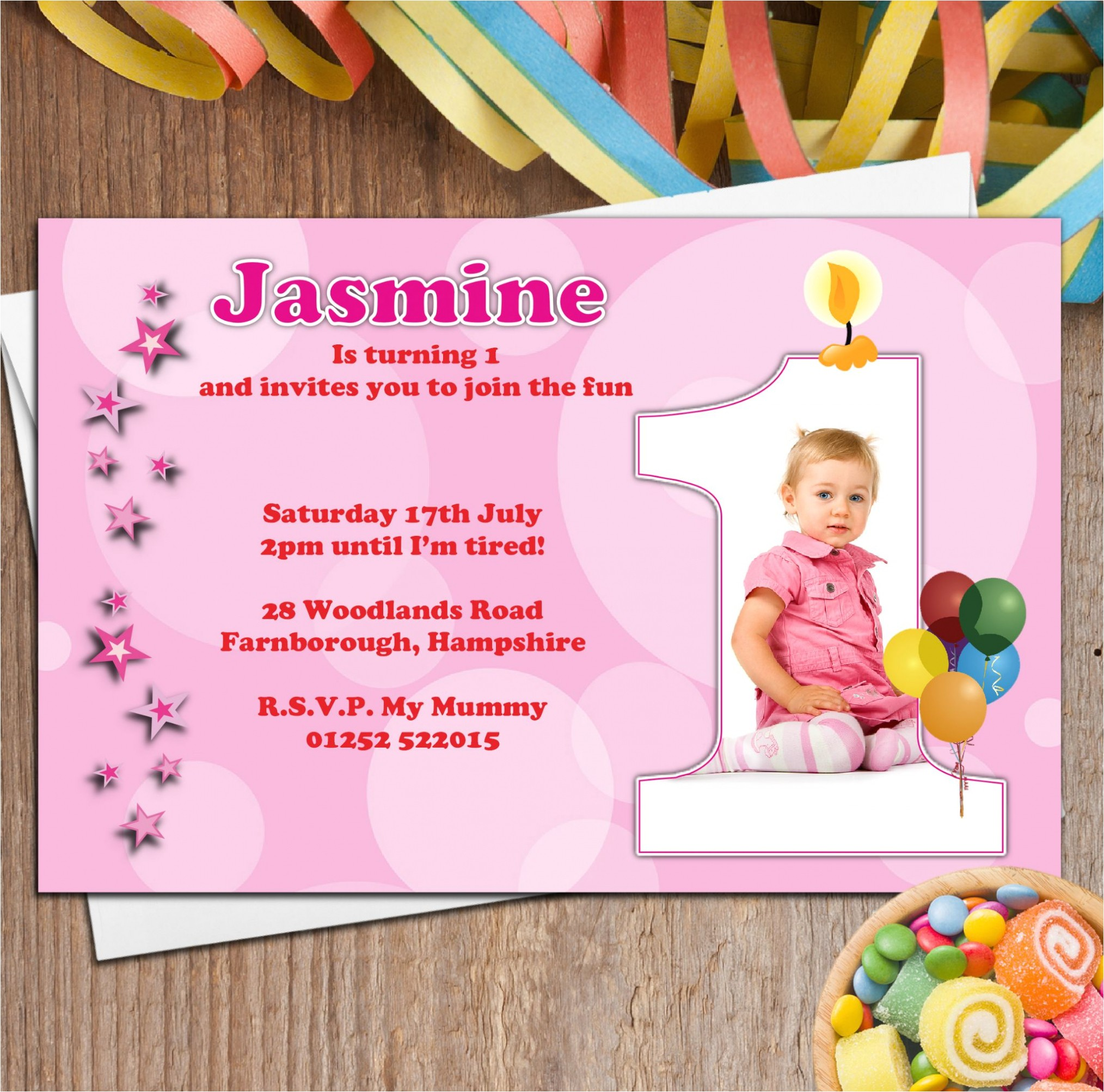 invitation for birthday party of son