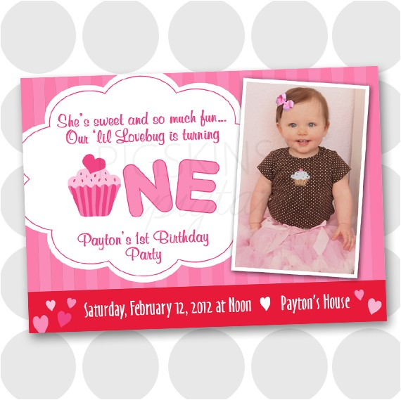 my son first birthday invitation