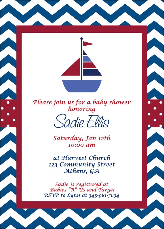 imposing design nautical theme baby shower invitations wonderful themed invitation wording il 570xn