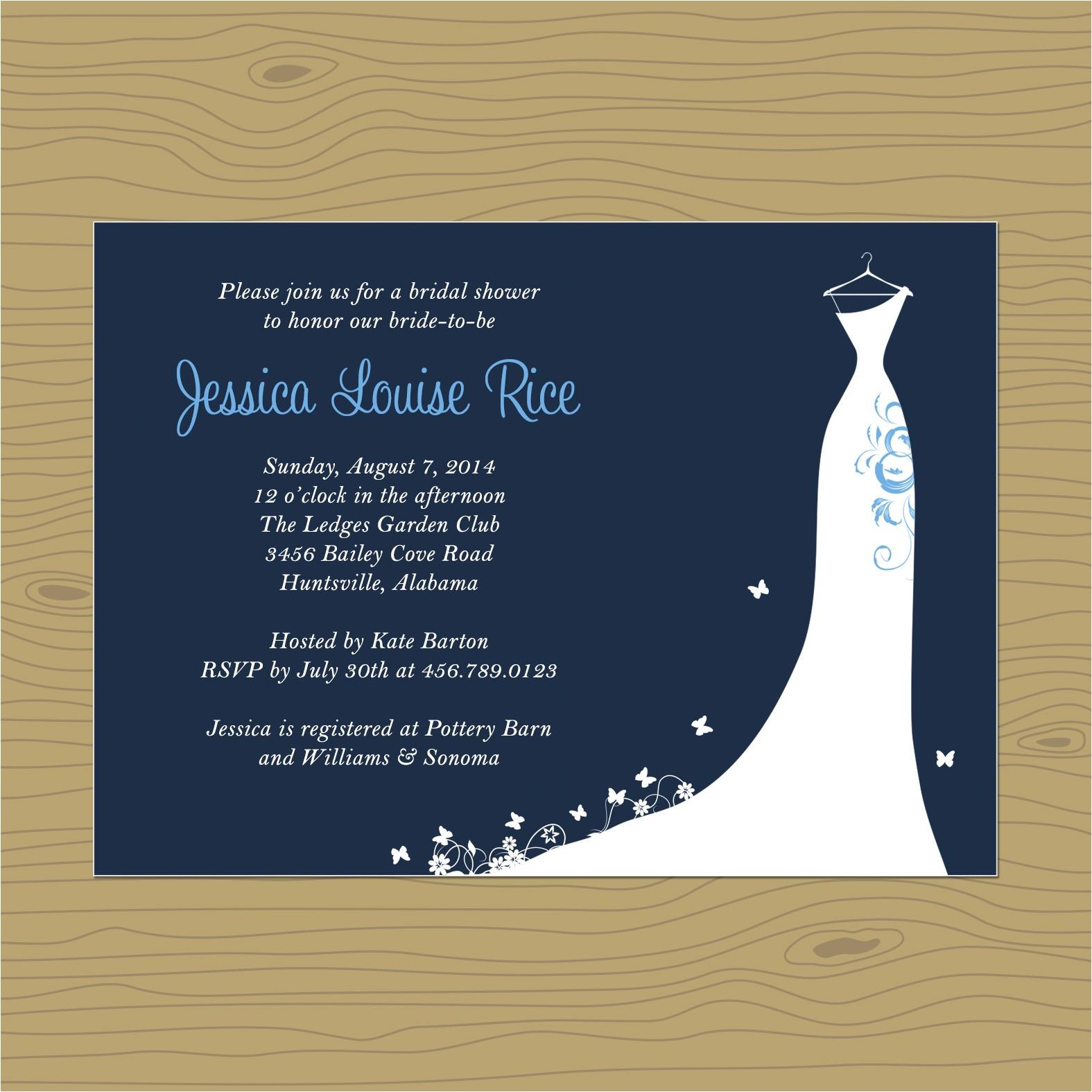 Nautical Bridal Shower Invites Bridal Shower Invitations Bridal Shower Invitations