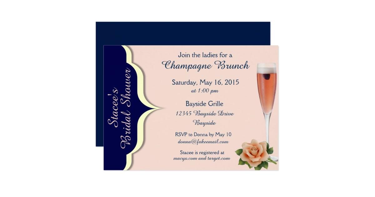 navy cream and blush bridal shower invites 256966673238458838