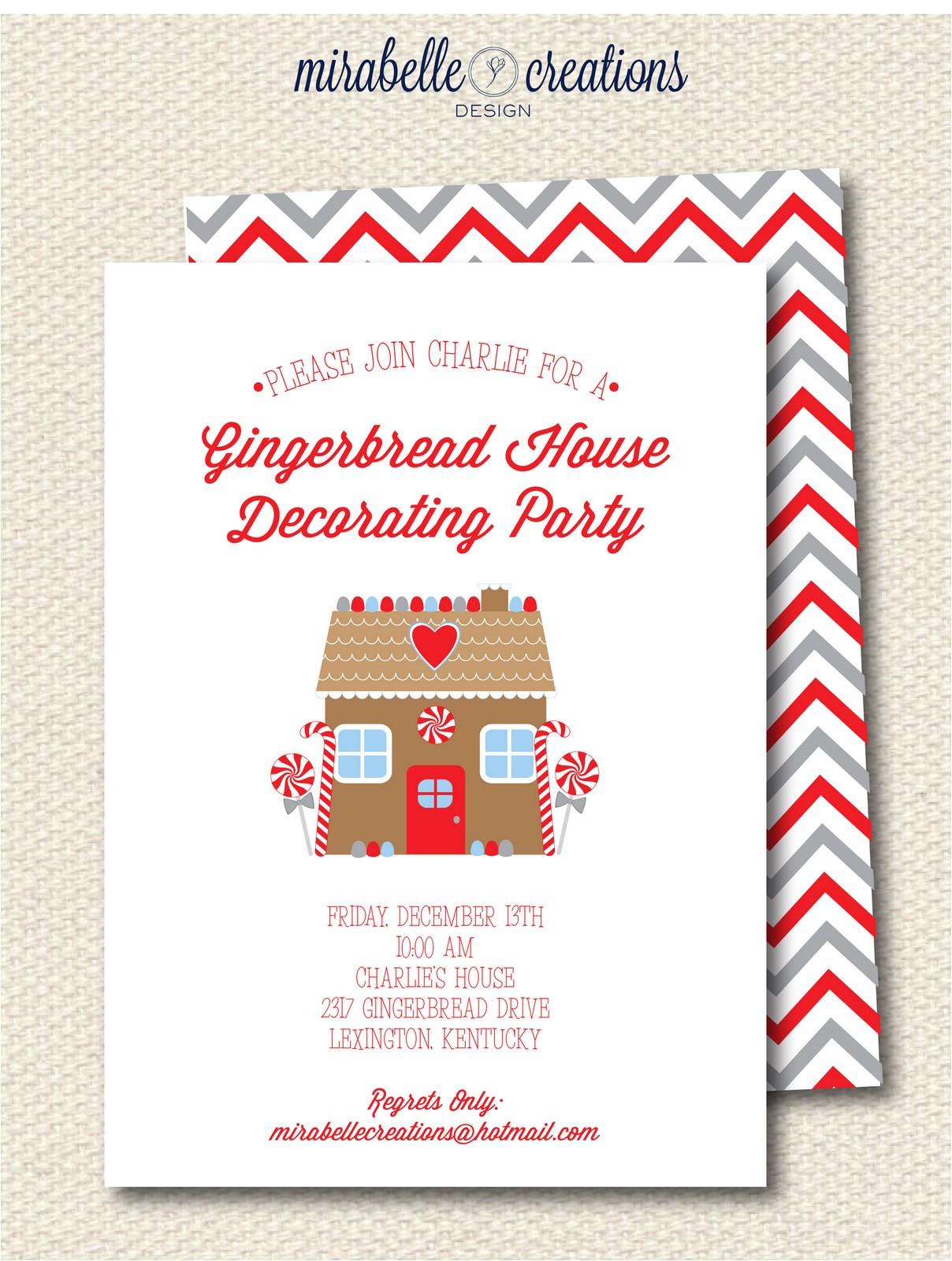 new shop christmas invitations