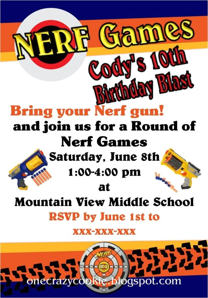 nerf party
