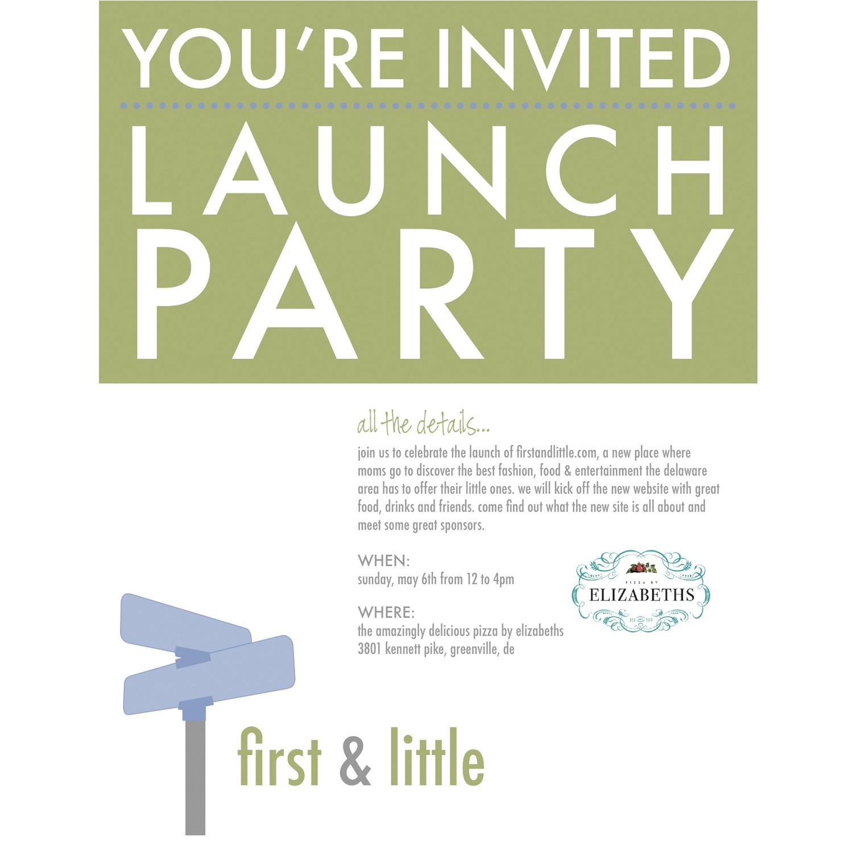 launch party invitation