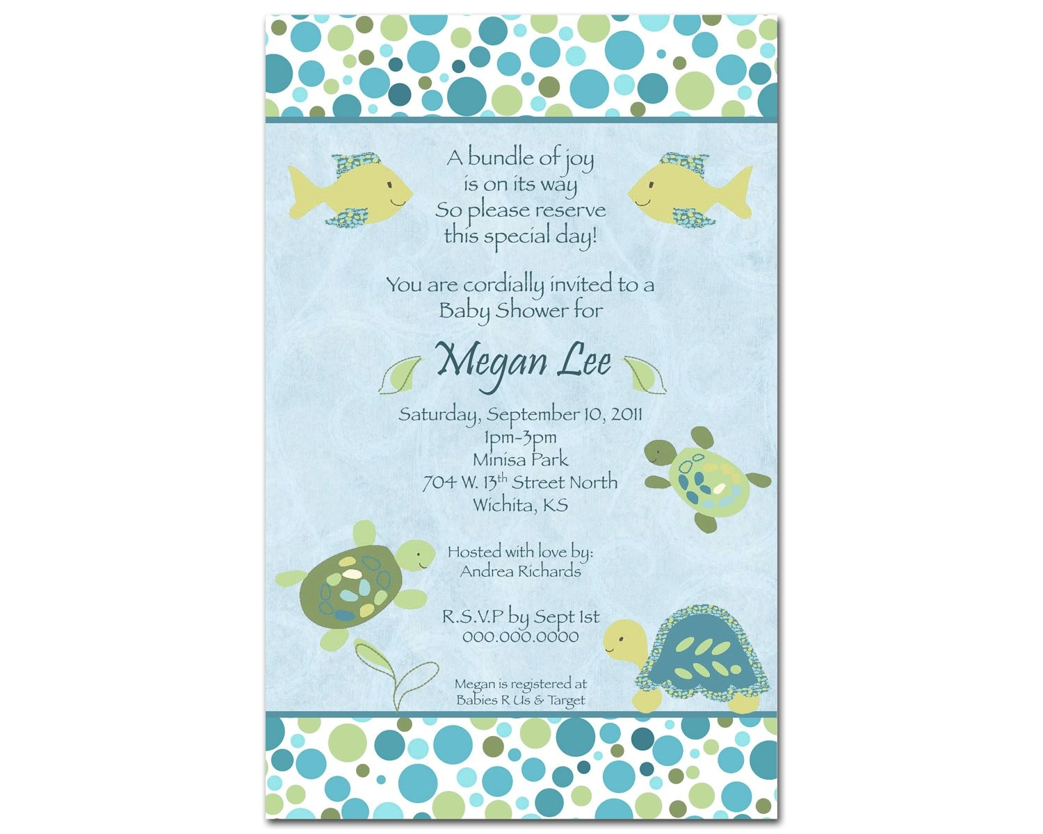 office wedding shower invitation