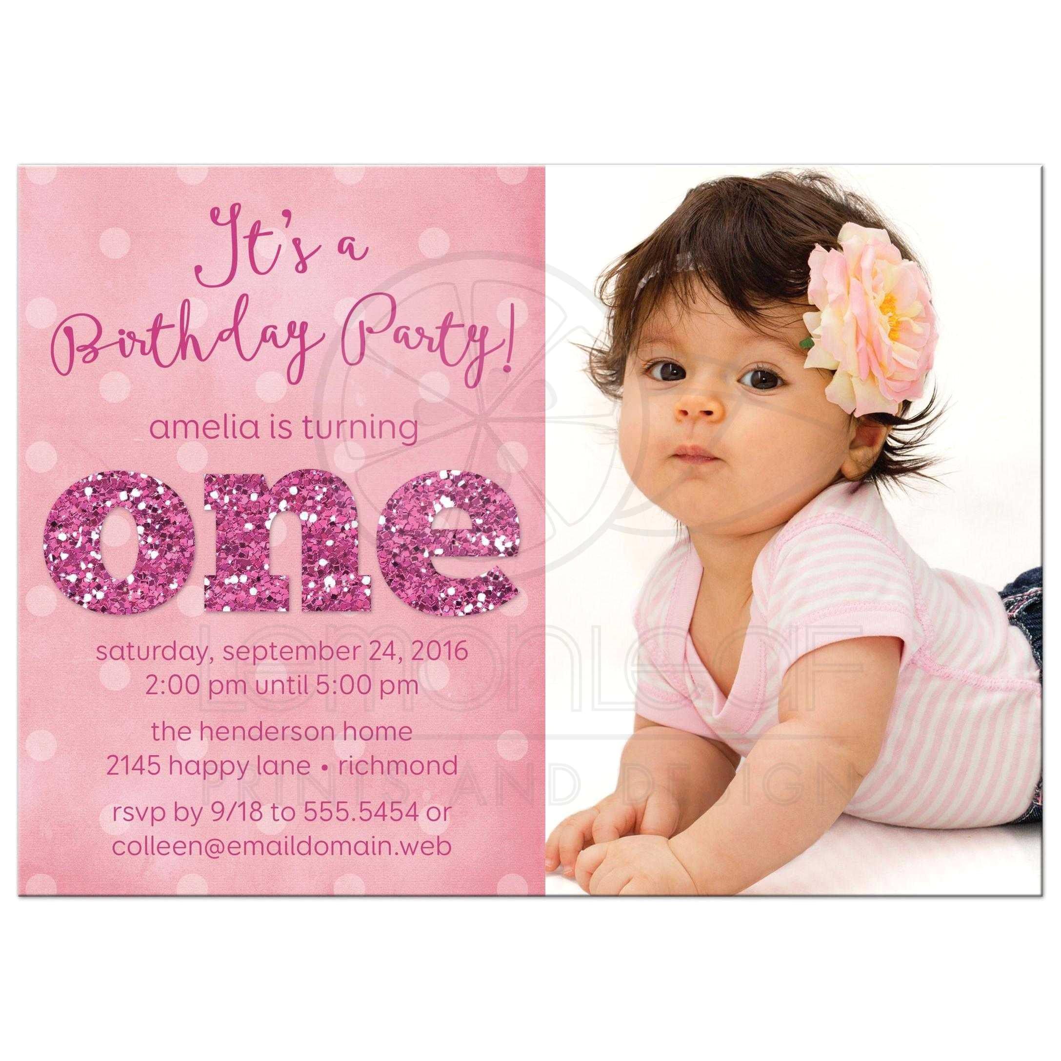 1st birthday and baptism invitation wording 2