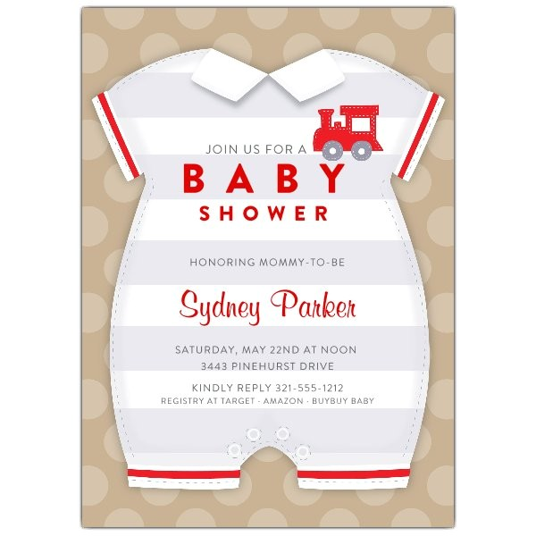 Baby Boy esie Shower Invitations p 643 57 IV1330
