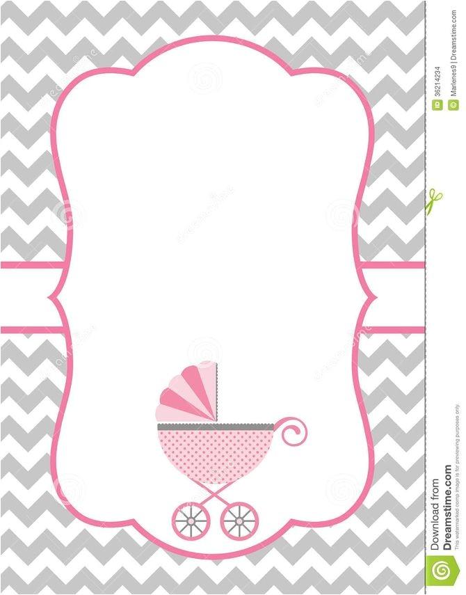 invitation card baby shower