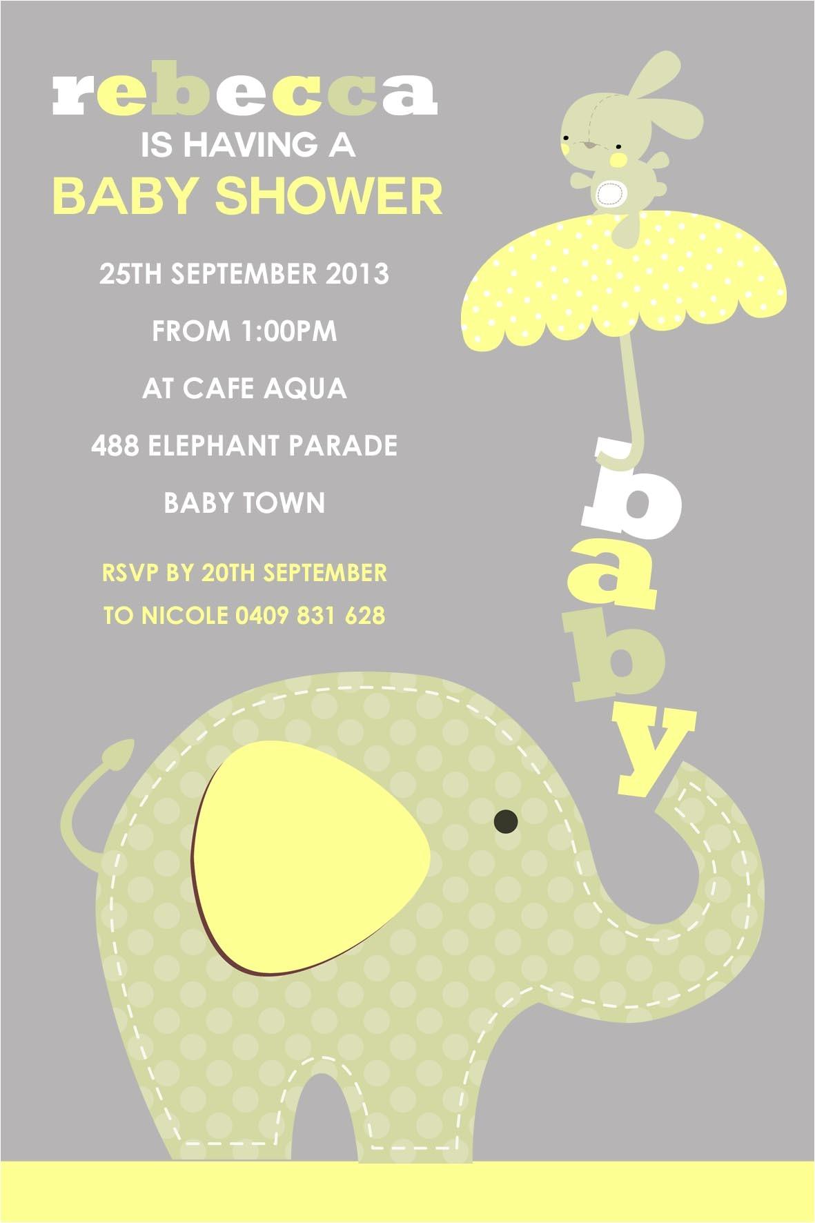 Online Editable Baby Shower Invitations New Free Editable Baby Shower Invitation Templates