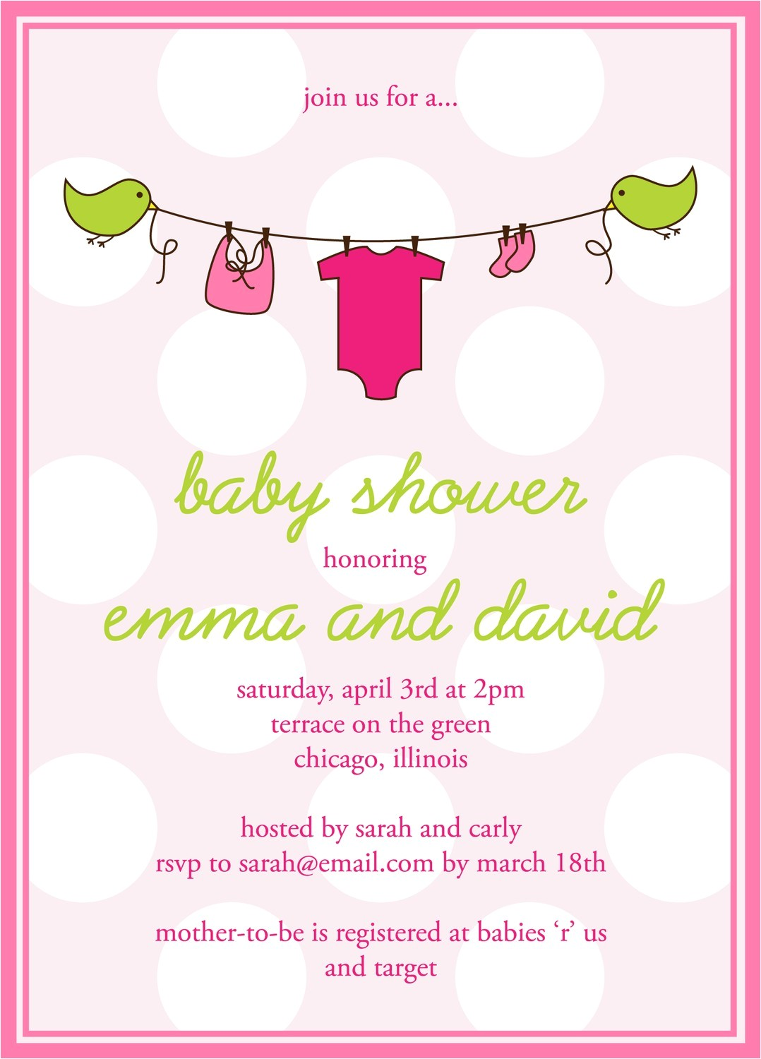Online Invites for Baby Shower Create Baby Shower Invitations Line