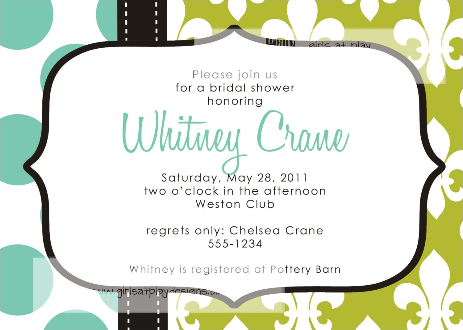 couples baby shower open house invitation wording