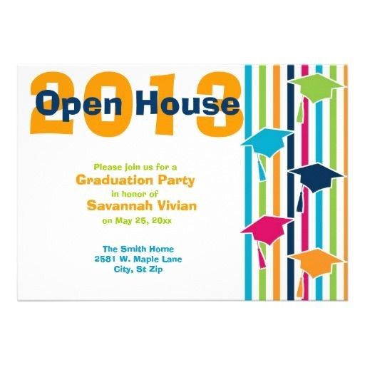 open house invitation wording