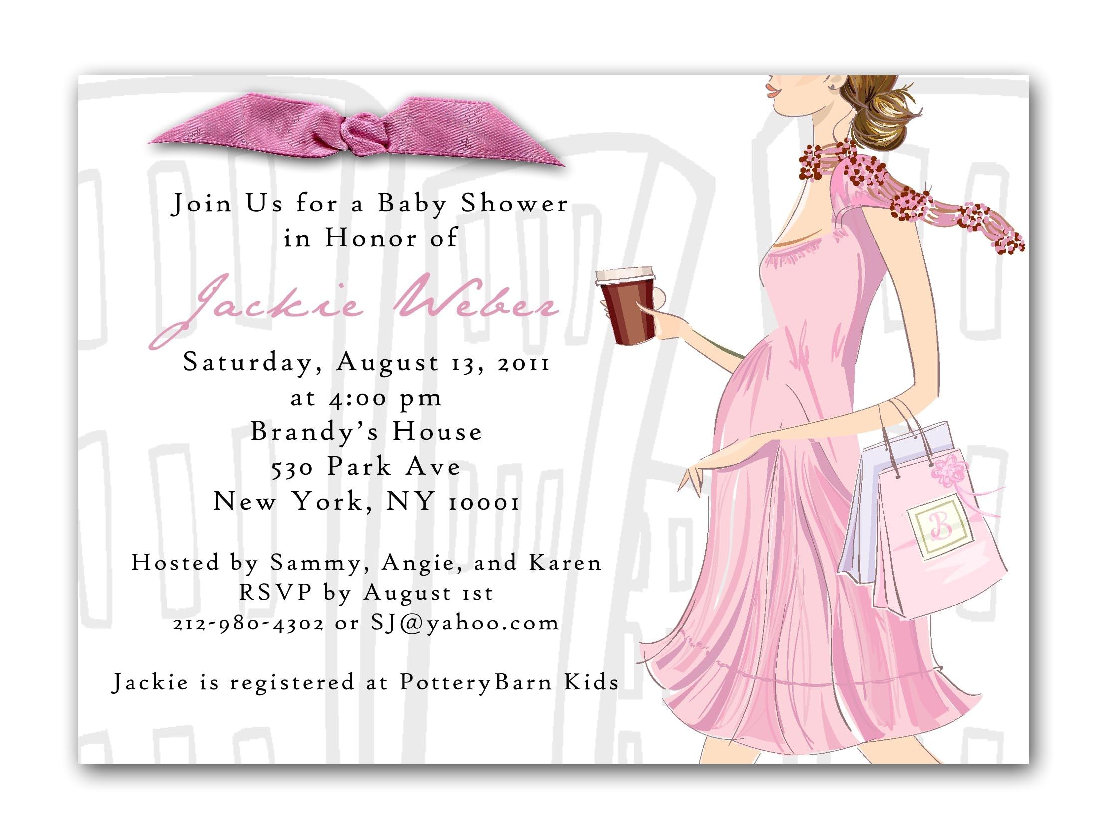 order baby shower invitations online
