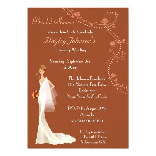 beautiful vintage bridal shower invites
