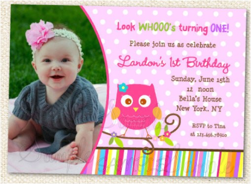 owl invitations