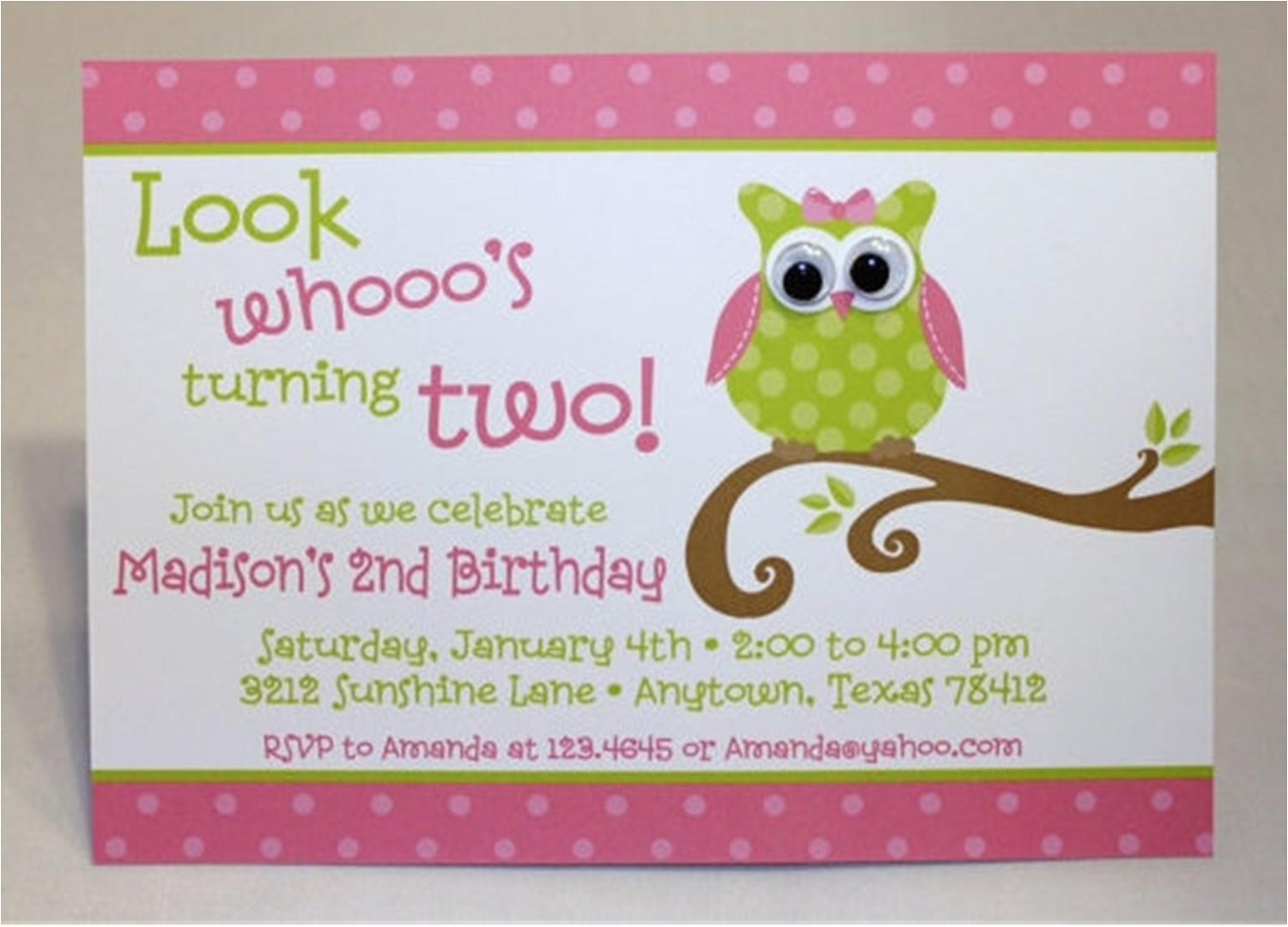 cute owl themed birthday party