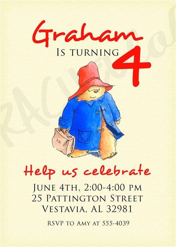 paddington birthday party