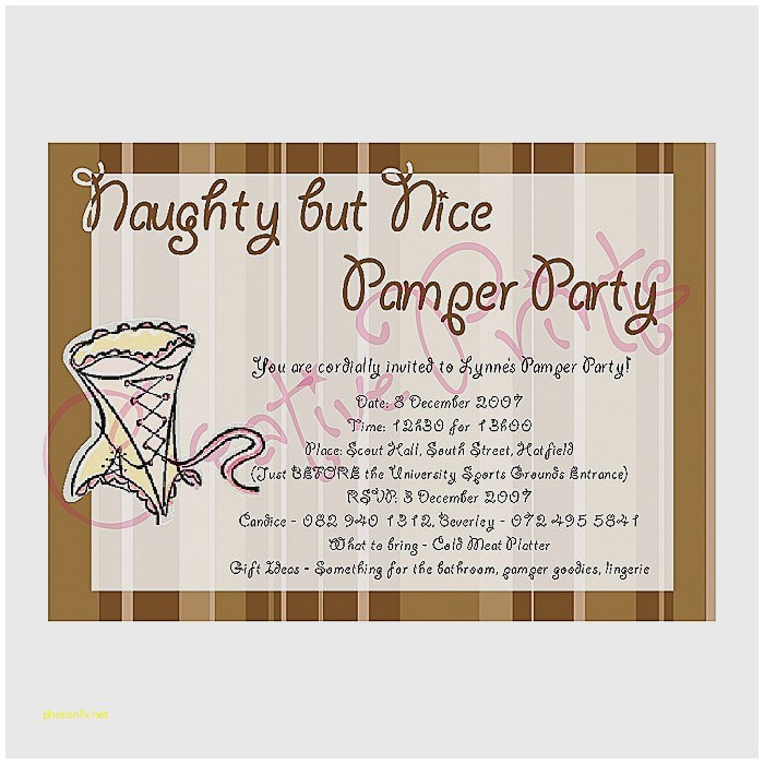baby shower pamper party invitations