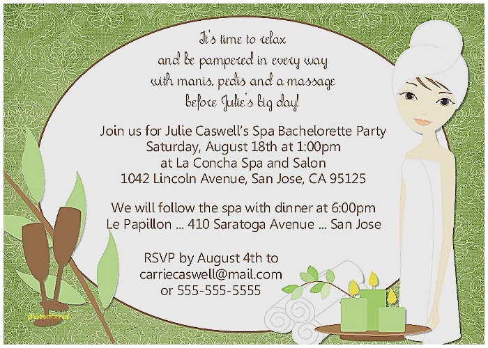 pamper baby shower invitations