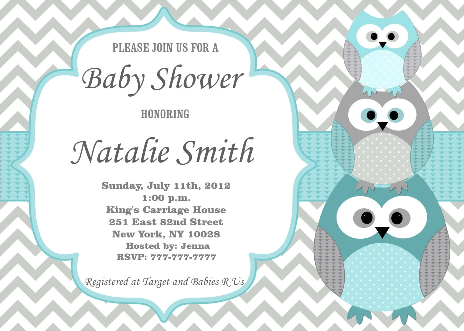 baby shower invitations boys