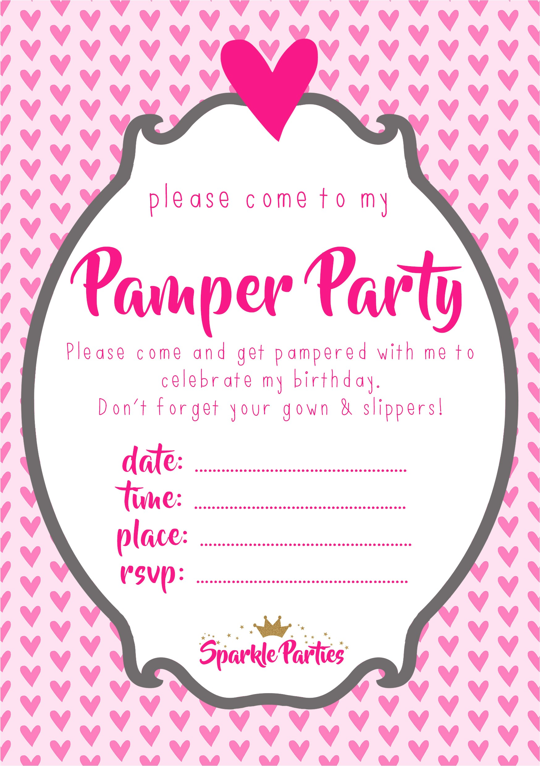 pamper party invitations in addition to redesign your party invitation template 5