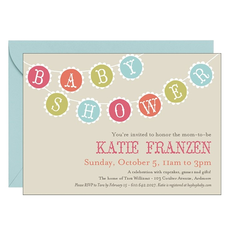 baby announcements and baby shower invitations