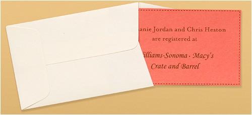 bridal shower invites handy registry cards