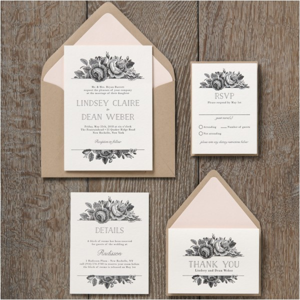 formidable paper source wedding invitations