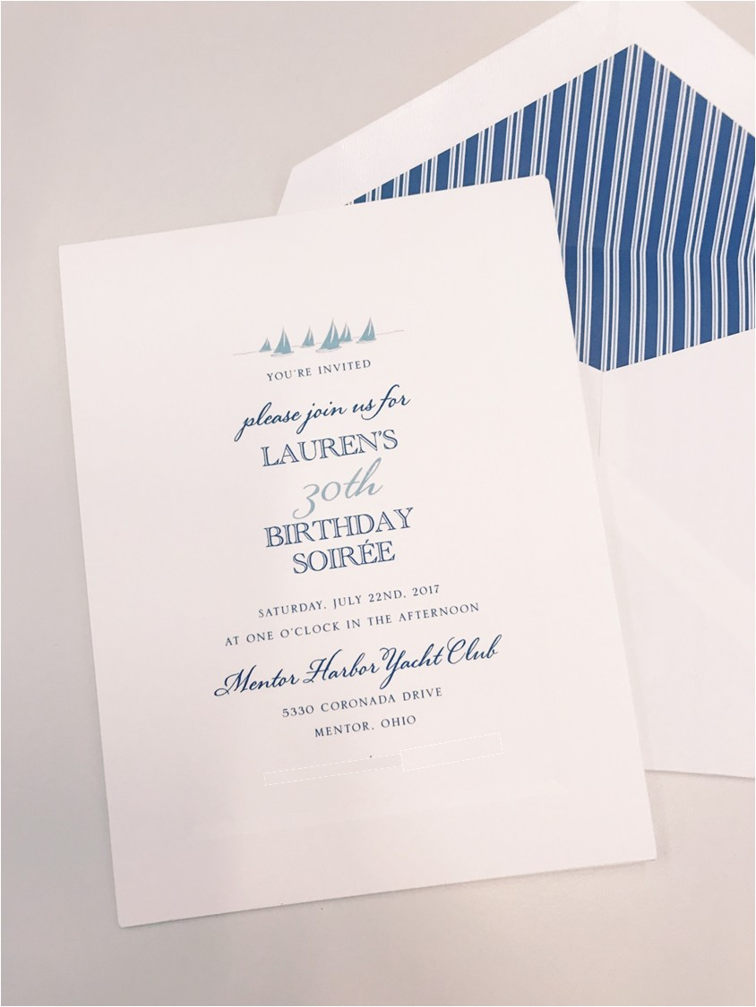 papyrus custom invitations
