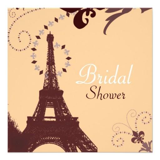 paris vintage bridal shower tea party invitation 161120671389519809