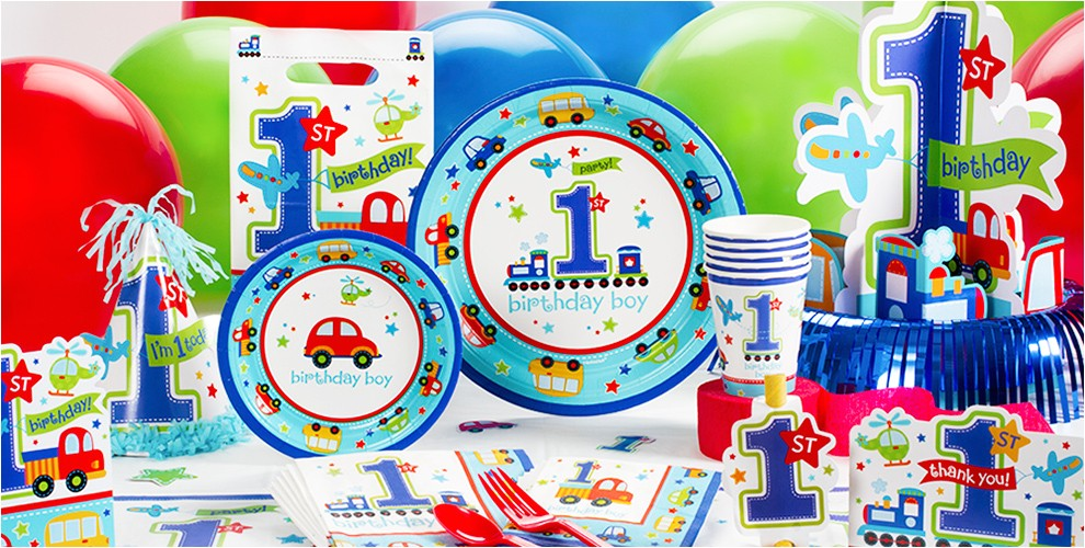 all aboard 1st birthday party supplies do