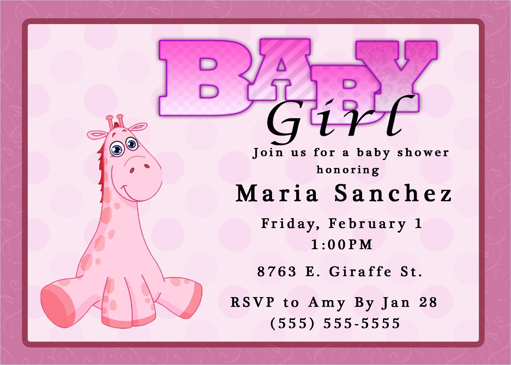 party city invitations for baby shower