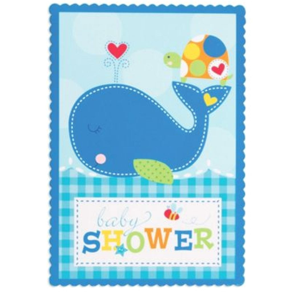 party city baby shower invitations