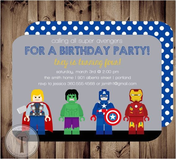 lego birthday invitations party city