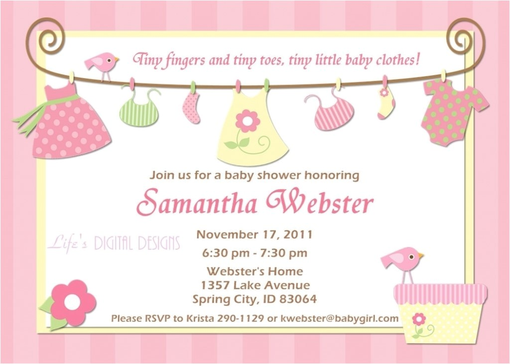 outstanding party city baby shower invitations