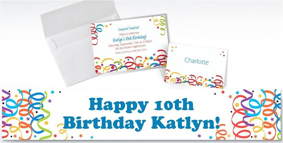 custom colorful birthday invitations do