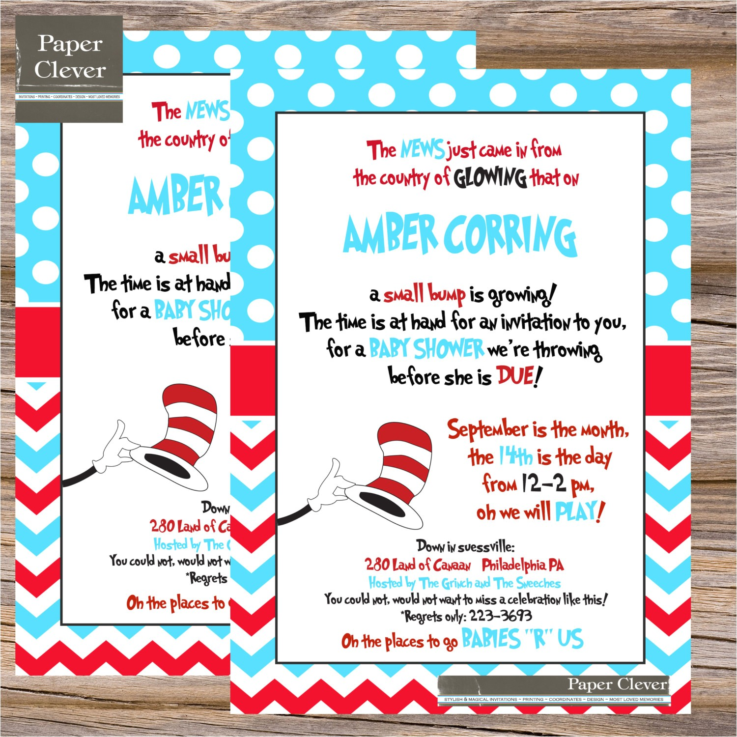 informal dr seuss baby shower invitations bring a book