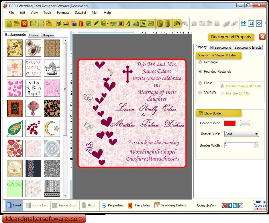 birthday invitation software